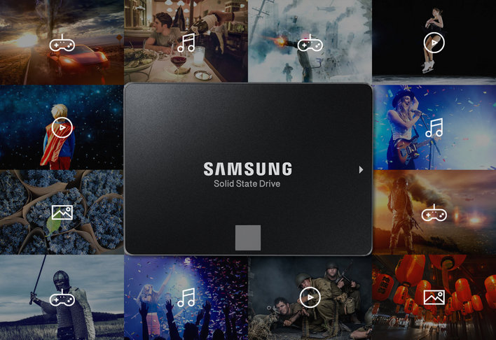 MZ 75E120B Capacity Range 1 - اس اس دی سامسونگ Samsung SSD EVO 850 500GB