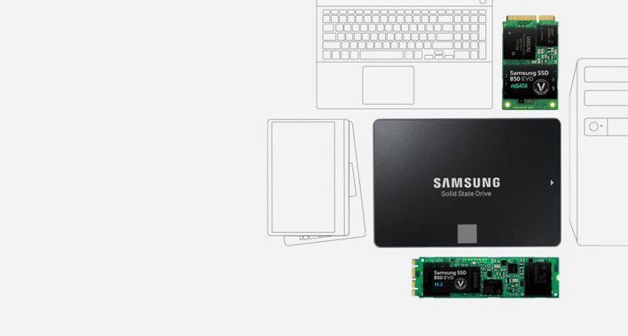Samsung SSD EVO 850 500GB
