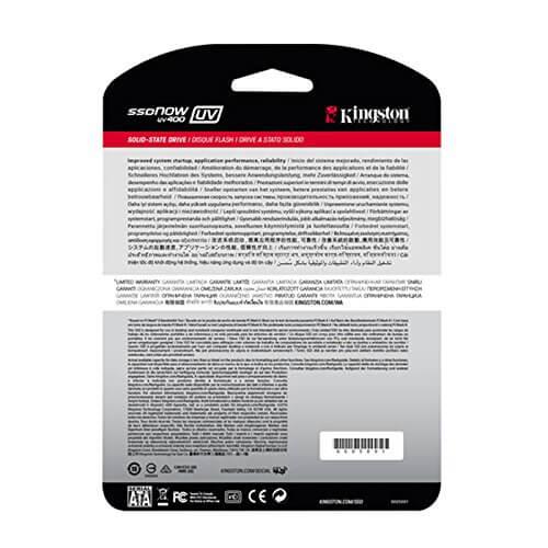 اس اس دی کینگستون kingston SSD uv400 120GB