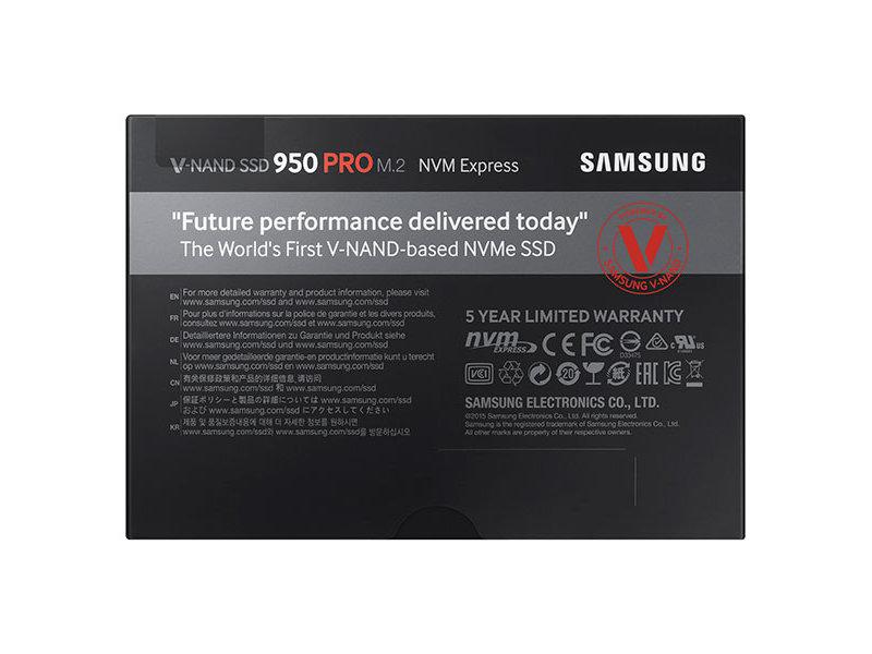 Samsung SSD PRO 950 256GB