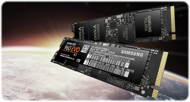 Samsung SSD EVO 960 1TB