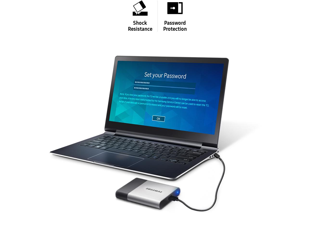 Samsung External SSD T3 500GB