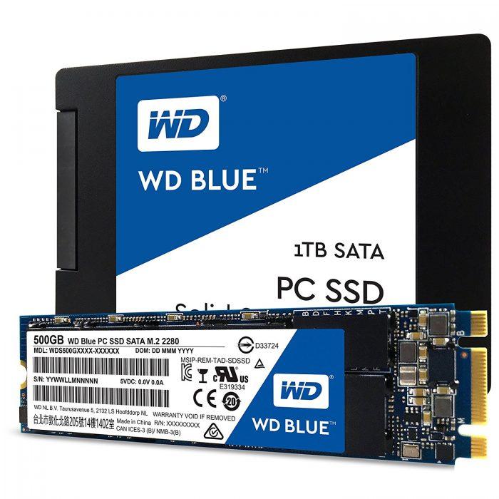 اس اس دی وسترن دیجیتال Western Digital SSD Blue 1TB