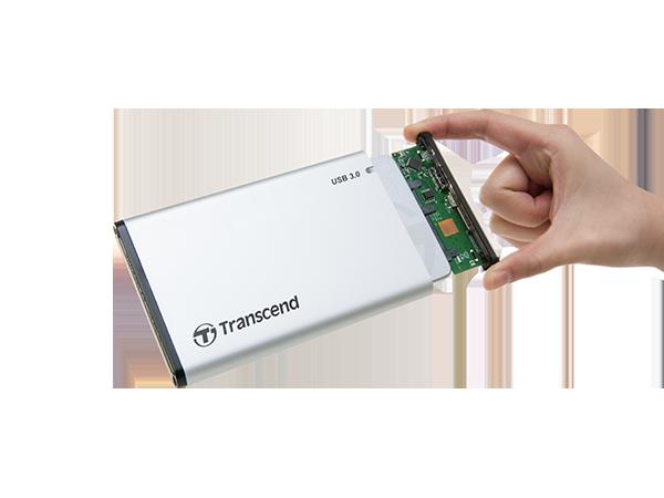Transcend StoreJet 25S3 SSD HDD ssdbazar 2 - باکس تبدیل هارد ترنسند Transcend StoreJet 25S3 SSD/HDD