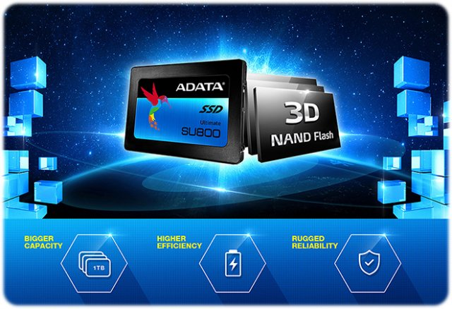 Adata SSD Ultimate SU800 256GB