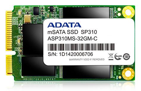 SSD Adata Premier Pro SP310 mSATA 32GB