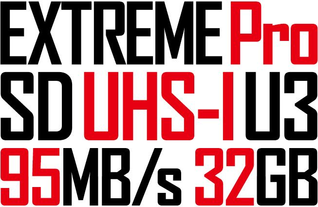 SanDisk Extreme pro sd card 32GB