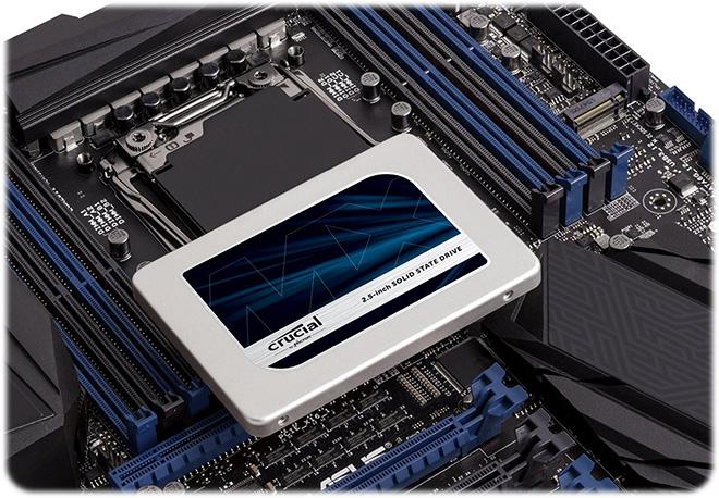 Crucial SSD MX300 525GB