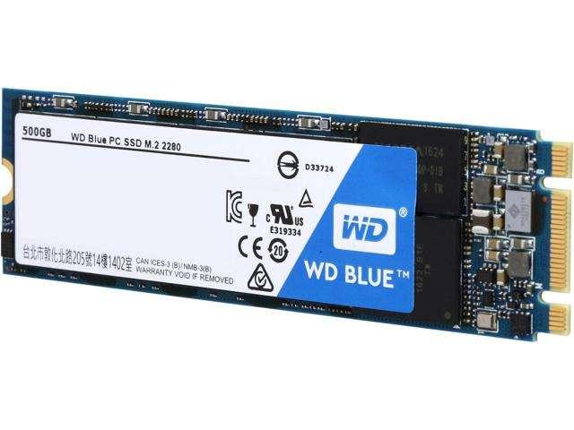 20 250 082 04 - اس اس دی وسترن دیجیتال Western Digital Blue m2 2280 500GB