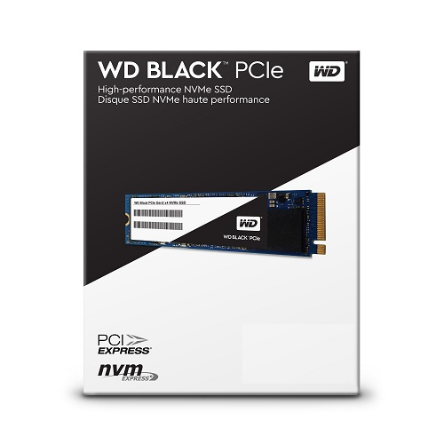 Western Digital SSD black m2 nvme 256GB