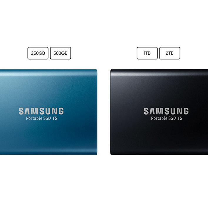 اس اس دی اکسترنال سامسونگ samsung ssd external T5 1TB