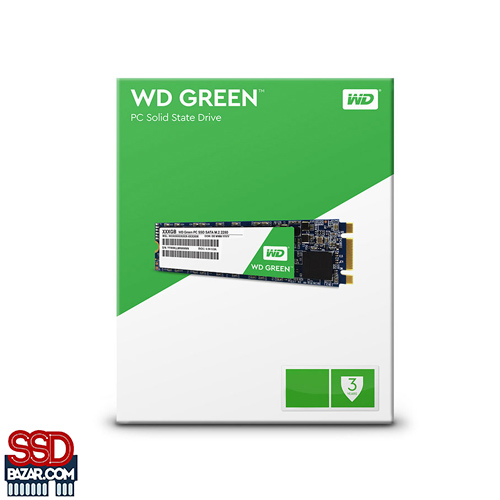 Western Digital 120GB WD Green SSD M.2 2280 WDS120G1G0B 1 1 - صفحه اصلی