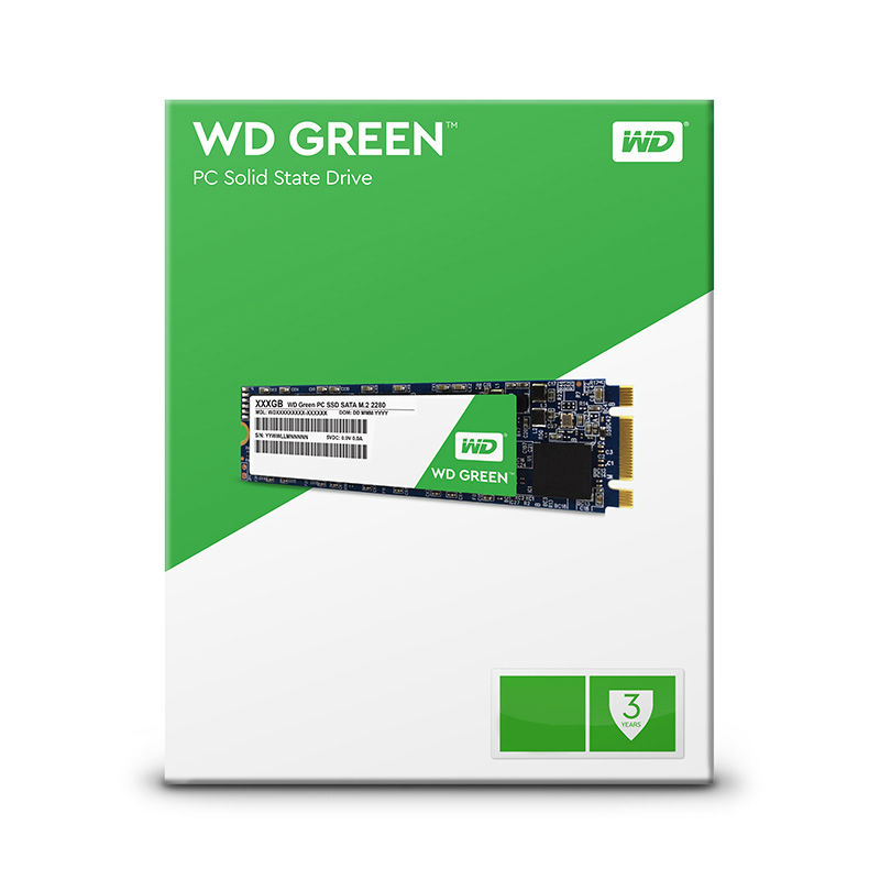 Western Digital SSD green m2 120GB