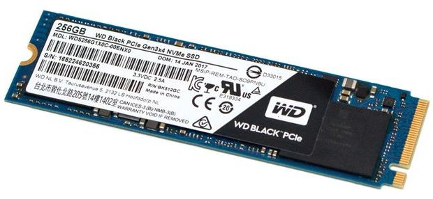 Western Digital SSD black m2 nvme 512GB