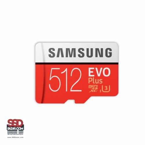 میکرو اس دی سامسونگ (2020) ssdbzar MicroSDXC Evo plus 512GB Class10 U3 4K 5-min