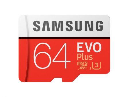 samsung MicroSXCD evo plus 64GB