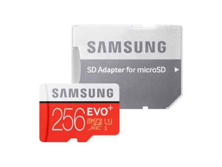 samsung MicroSXCD evo plus 256GB