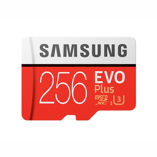 microsd samsung evoplus 256gb ssdbazar - کارت حافظه میکرو اس دی سامسونگ samsung MicroSDXC evo plus 256GB Class10 U3 4K