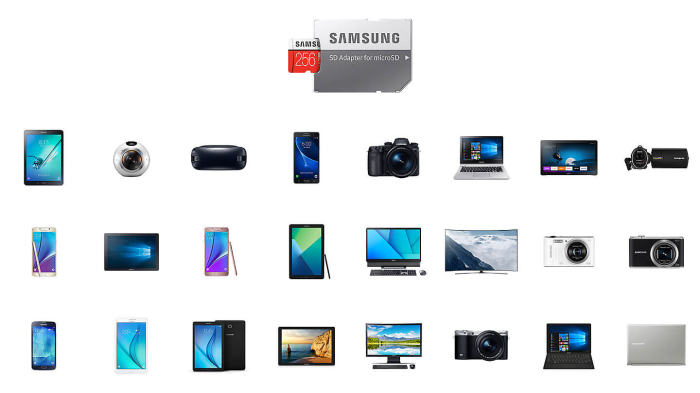 samsung MicroSXCD evo plus 64GBکارت حافظه میکرو اس دی سامسونگ samsung MicroSDXC evo plus 64GB Class10 U3 4K
