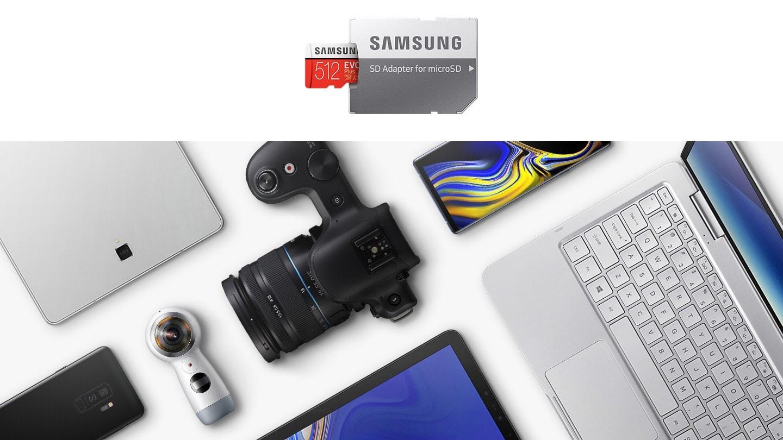 کارت حافظه میکرو اس دی سامسونگ samsung MicroSDXC evo plus 128GB Class10 U3 4K