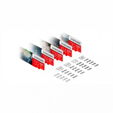 microsd samsung evoplus ssdbazar 450x450 - کارت حافظه میکرو اس دی سامسونگ samsung MicroSDXC evo plus 128GB Class10 U3 4K