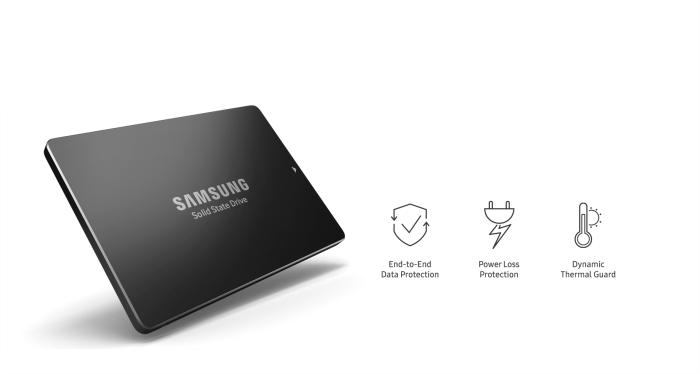اس اس دی سامسونگ Samsung SSD SM863a 120GB