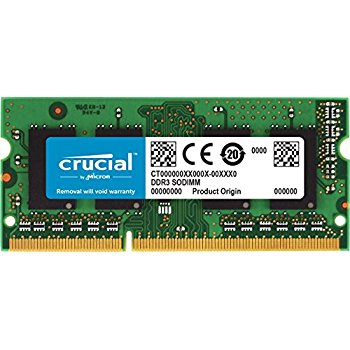 Crucial SODIMM DDR3L 8GB 1600 Mhz