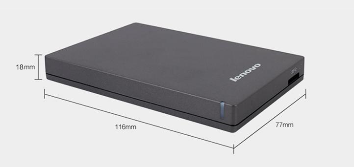 باکس تبدیل هارد 2.5 اینچ لنوو Lenovo F309 SSD/HDD 2.5 inch