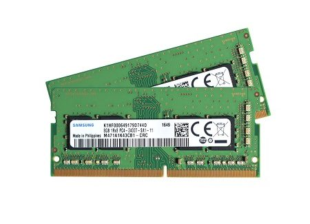 M471A1K43CB1 CRC kit  47219.1490270566 1 450x325 - رم لپ تاپ سامسونگ Samsung Ram DDR4 4GB 2400 Mhz