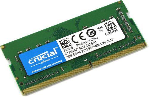 Crucial SODIMM DDR4 8GB 2133 Mhz