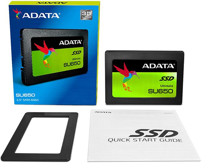 Adata SSD Ultimate SU650 120GB