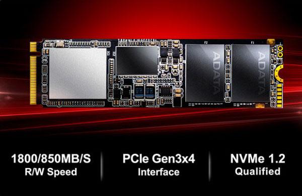 Adata SSD M2 PCIe XPG SX7000 256GB