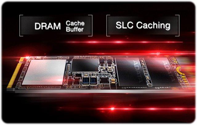 5 1 - اس اس دی ای دیتا Adata SSD M2 PCIe XPG SX7000 512GB