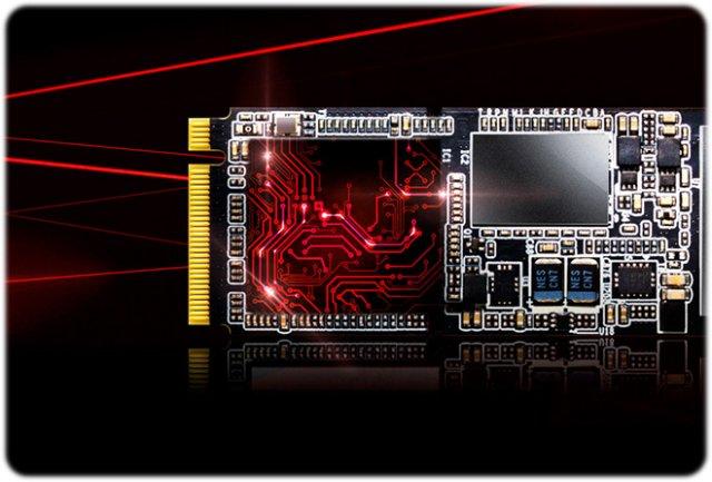 6 2 - اس اس دی ای دیتا Adata SSD M2 PCIe XPG SX7000 512GB