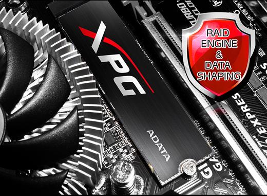Adata SSD M2 PCIe XPG SX7000 + HeatSink 128GB