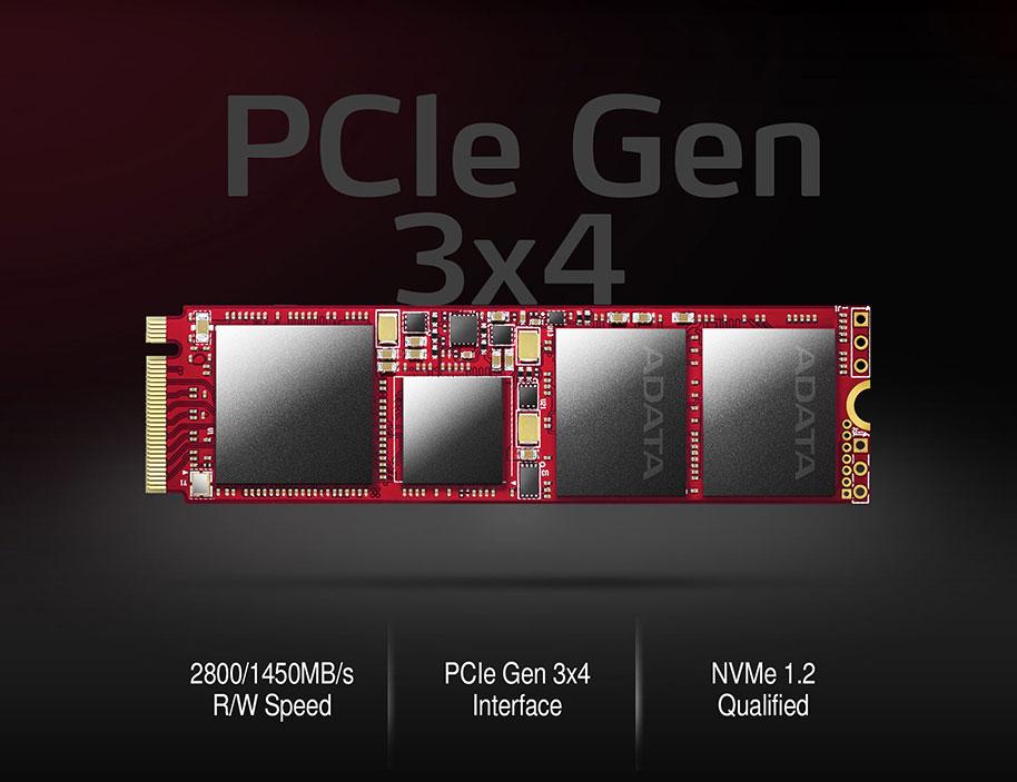 pi feature image 2 - اس اس دی ای دیتا Adata SSD M2 PCIe XPG SX9000 256GB