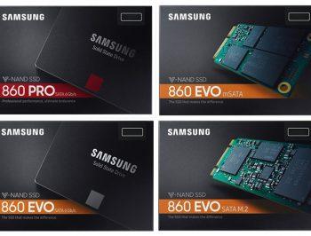 انتشار نسل جدید اس اس دی های سامسونگ (Samsung EVO 860 )