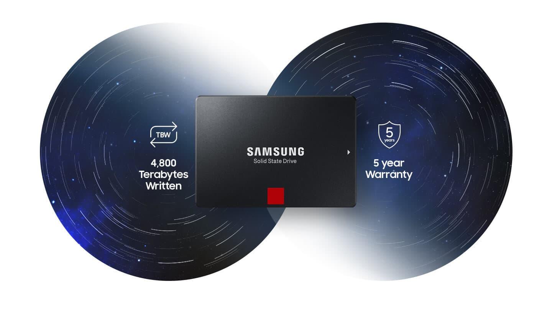 اس اس دی سامسونگ Samsung SSD PRO 860 1TB