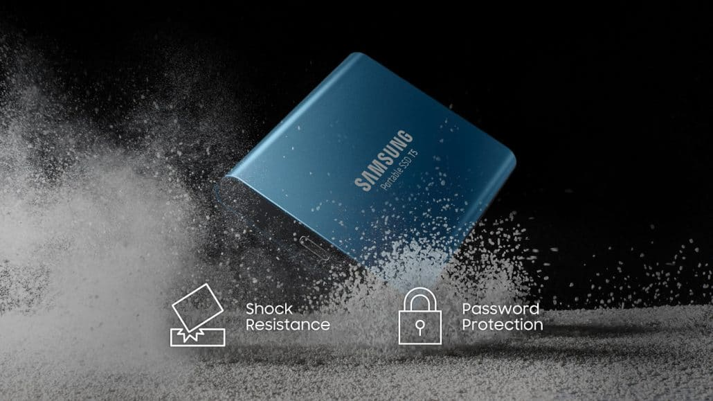 500GB 250GB Solid inside and out 1 1 1030x579 - samsung external ssd T5 250GB اس اس دی اکسترنال سامسونگ
