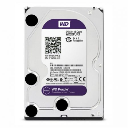 Western Digital HDD purple 64MB cache 1TB