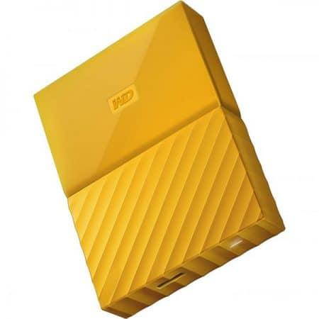 WD My Passport ywllow 2 600x686 450x450 - هارد دیسک اکسترنال وسترن دیجیتال Western Digital external HDD My Passport 1TB