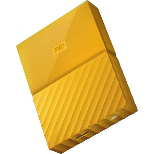WD My Passport ywllow 2 600x686 500x500 - هارد دیسک اکسترنال وسترن دیجیتال Western Digital external HDD My Passport 2TB