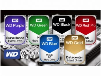 بررسی رنگ های مختلف هاردهای وسترن دیجیتال Western Digital HDD colours