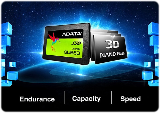 Adata SSD Ultimate SU650 480GB