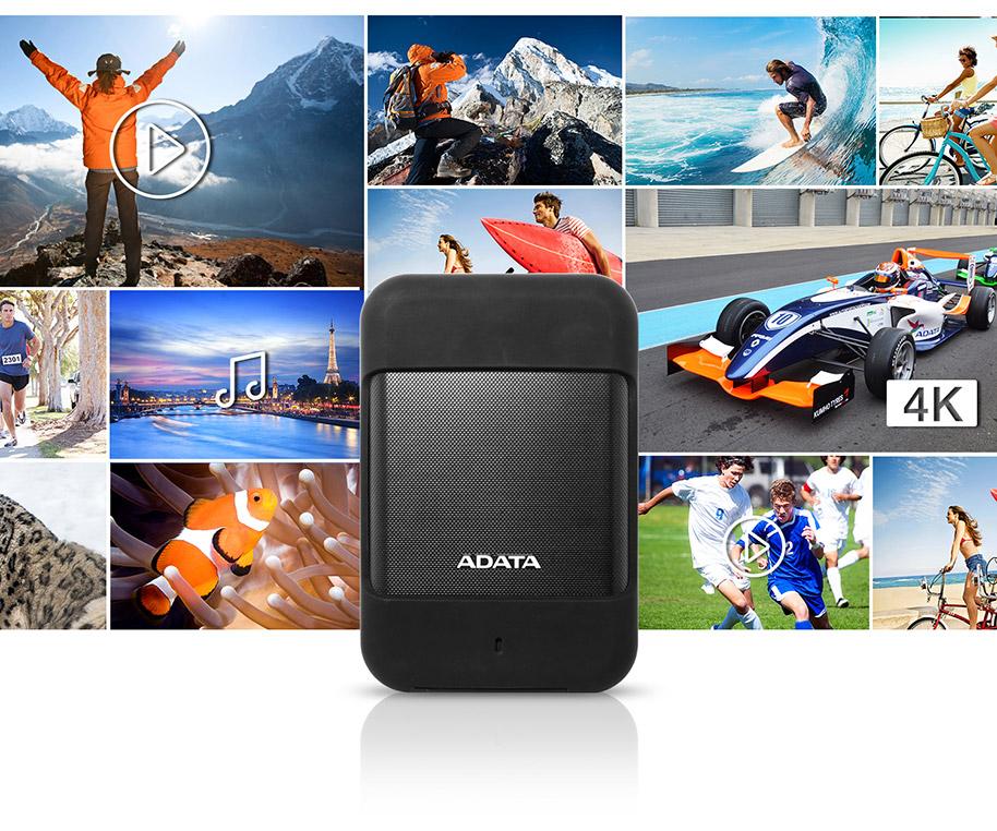 هارد دیسک اکسترنال ای دیتا Adata external HDD HD700 1TB