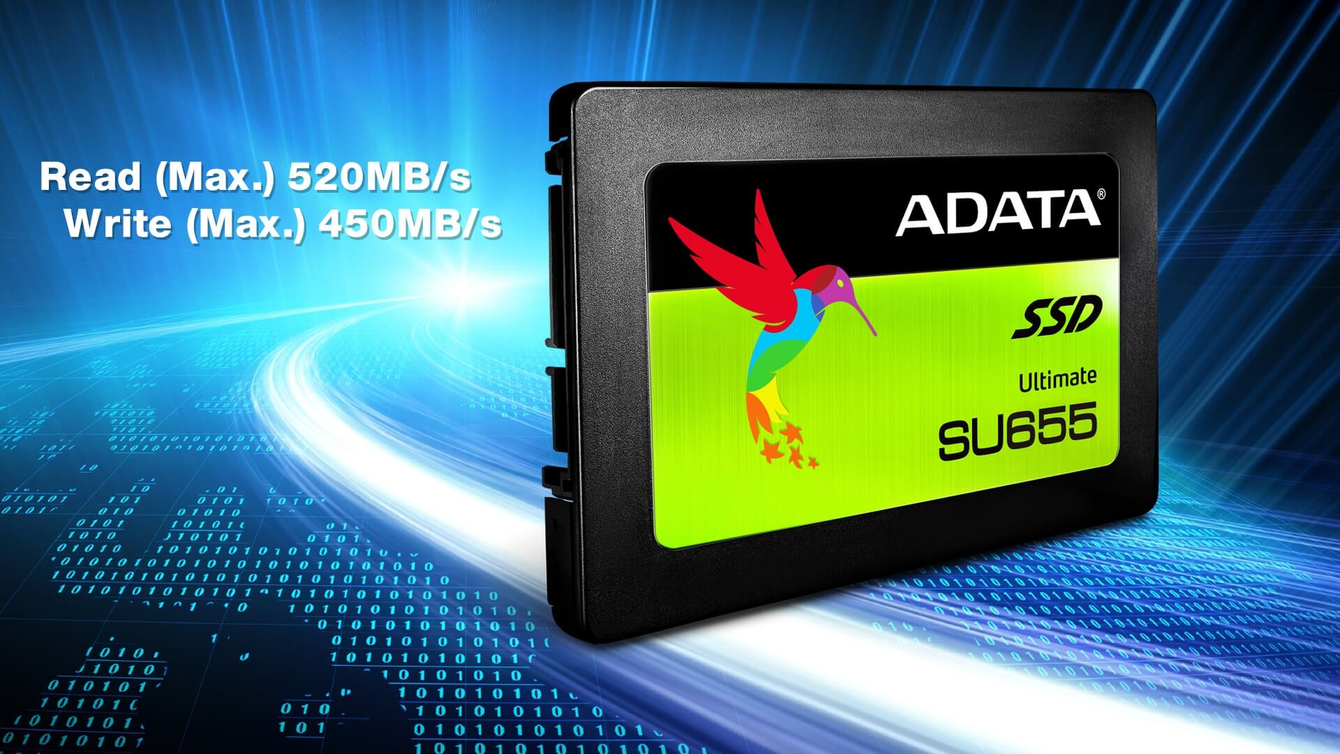 اس اس دی ای دیتا Adata SSD Ultimate SU655 120GB