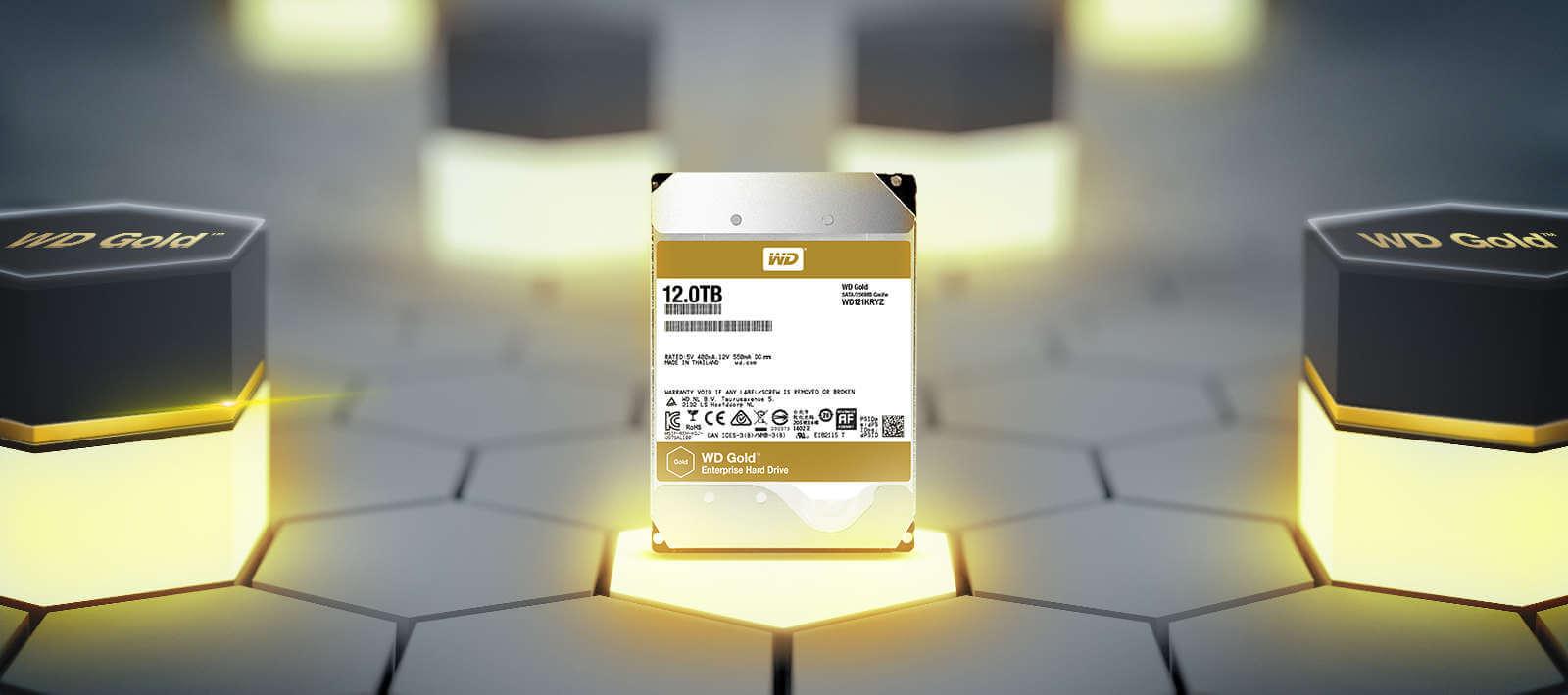 هارد دیسک وسترن دیجیتال Western Digital HDD Gold 8TB