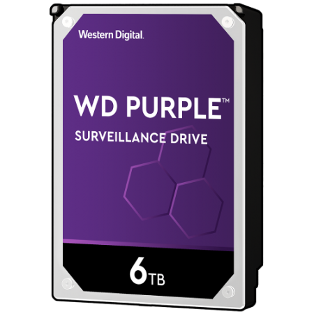 هارد دیسک وسترن دیجیتال Western Digital HDD Purple 6TB