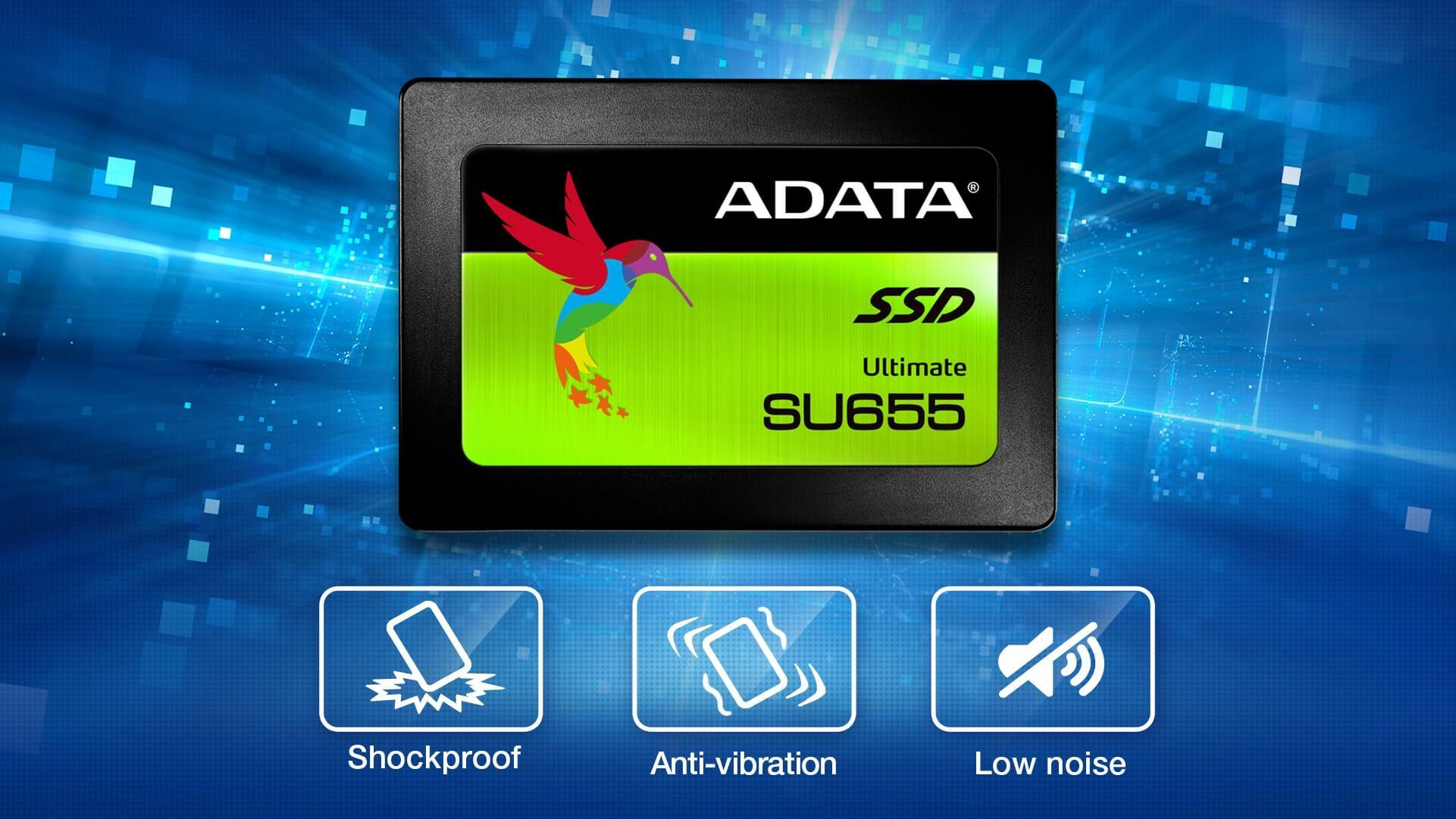 اس اس دی ای دیتا Adata SSD Ultimate SU655 240GB
