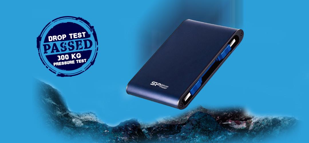 Silicon Power External HDD Armor A80 SSDBAZAR 2 - هارد دیسک اکسترنال سیلیکون پاور Silicon Power External HDD Armor A80 1TB